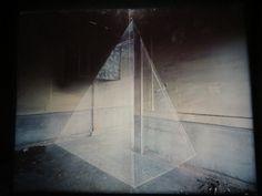 """""""Anamorphose"""", Exposition Georges Rousse, Base sous-marine, Bassins à Flots, Bordeaux, Gironde, Aquitaine, France. #Rousse"""