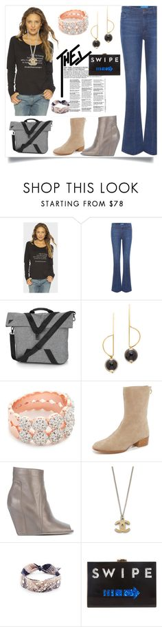 """""""Vintage fashion"""" by denisee-denisee ❤ liked on Polyvore featuring Peace Love World, M.i.h Jeans, Under Armour, Marni, Bronzallure, Joie, Rick Owens, DANNIJO, Milly and vintage"""