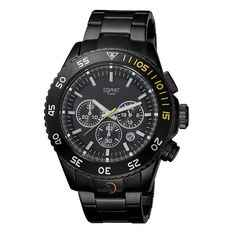 4c10a4806526 ESPRIT Male Varic Watch ES103621006 Black Analog Sale price.  102.95