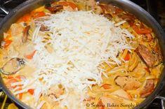One Pot Cajun Chicken Pasta | Serena Bakes Simply From Scratch Cajun Chicken Pasta, One Pot, Easy Dinner Recipes, Skillet, Cooking Recipes, Baking, Ethnic Recipes, Food, Easy Dinner Recipies