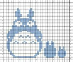 Nerdcrafts: Totoro Double-Knit Potholder Source by mrsvj potholders Fair Isle Knitting Patterns, Knitting Charts, Knitting Stitches, Cross Stitching, Cross Stitch Embroidery, Cross Stitch Patterns, Crochet Totoro, Potholder Patterns, Cross Stitch For Kids