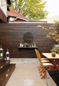 Built-In Backyard Bar | photo Michael Graydon |design Gillian Green |House & Home