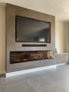 Living Room Decor Fireplace, Fireplace Tv Wall, Modern Fireplace, Fireplace Suites, Tv Entertainment Centers, 3d Wallpaper Living Room, Electric Fireplace, Tv Unit, Fireplaces