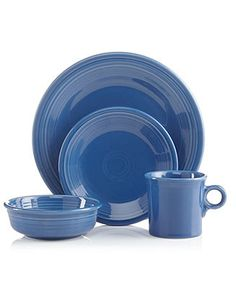 Fiesta Dinnerware, Lapis 4 Piece Place Setting - Fiesta Dinnerware - Dining & Entertaining - Macy's