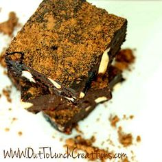 Raw Black Forest Brownies