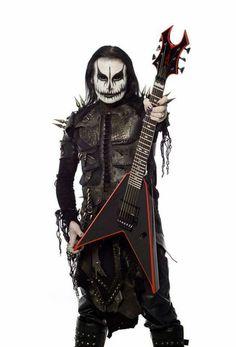 Dani Filth Bc Rich Guitars, Dani Filth, Rain Fashion, Cradle Of Filth, Extreme Metal, Heavy Metal Music, Boy Halloween Costumes, Alternative Music, Metalhead