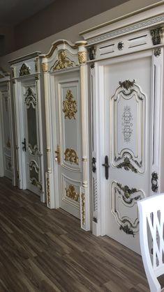 Staircase Interior Design, Office Interior Design, Luxury Interior Design, Interior Exterior, Best Door Designs, Wooden Main Door Design, Baroque Decor, Classic Doors, Luxury Kitchen Design