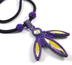 Liisa Turunen Designs - Chausie Pendant Beading Kit , $98.00 (http://www.liisaturunendesigns.com/chausie-pendant-beading-kit/)