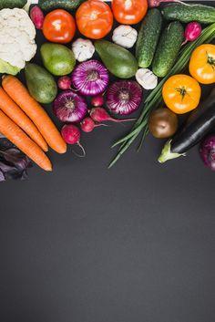 Fruits And Vegetables Pictures, Vegetable Pictures, Asian Vegetables, Fresh Vegetables, Fruits And Veggies, Wallpaper Frutas, Food Wallpaper, Food Background Wallpapers, Food Backgrounds