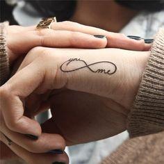 You and me tattoo