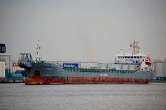 Voormalige Flinterrebecca  12 februari 2016 op het Noordzeekanaal bestemming zee http://koopvaardij.blogspot.nl/2016/02/voormalige-flinterrebecca.html