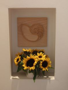 """The """"Seashell"""" Wood carving, hand carved, spiritual gift, spiral, wall art, transformation, enlightenment"""