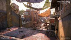 ArtStation - Uncharted 4 - Madagascar City (Market Stairs) - Part 1, Jacob Norris