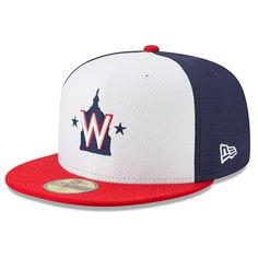 b7f3a8b5d74 Men s Washington Nationals New Era Navy 2019 Batting Practice 59FIFTY Fitted  Hat