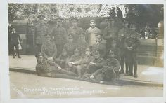 6 RWF Criccieth Territorial Northampton Sept 1914. British Armed Forces, World War One, North Wales, Photography, Painting, World War I, Photograph, Fotografie, Painting Art