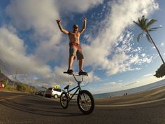 """Welcome to the GoPro athlete lineup Mike """"Hucker"""" Clark! You're the man in more ways than one. Read more about this talented BMX pro: http://g.gopro.com/6494AOQ0"""