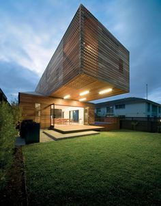 Cantilever home