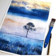 Stunning watercolor work by Maria Smirnova