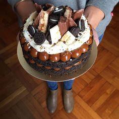 Oreo Cake, Oreo Cookies, How To Make Cookies, How To Make Cake, Mini Oreo, Frosting Tips, Eat Cake, Chocolate Cake, Cake Recipes