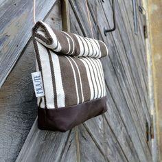 AILI-laukku, ruskeavalkoraita | Weecos