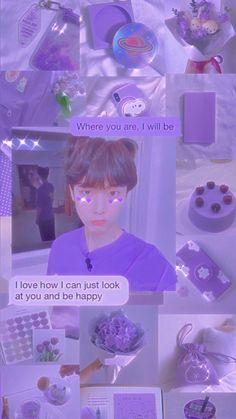 Astro Wallpaper, Soft Wallpaper, Purple Aesthetic, Kpop Aesthetic, Soft Purple, Look At You, Aesthetic Wallpapers, Cute, Anime