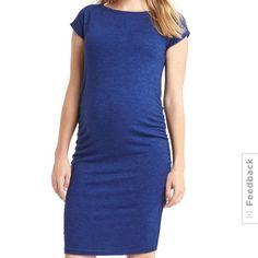 f3c486f73c3f16 Gap Marled Maternity Dress Tee Dress, Maternity Dresses, Spandex, Dresses  For