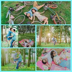 Prewedding photo shoot