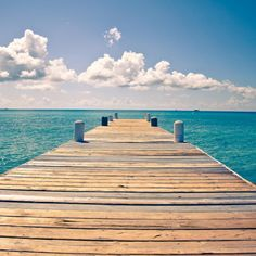 Without a care - A jetty to the sea