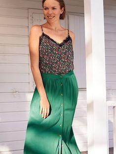 de14cc6b Rebajas faldas largas de punto de Mujer talla 34 a 48 | Kiabi