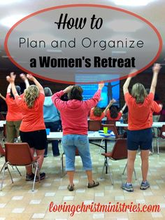 When you're ready to plan a women's retreat, here's a free printable checklist to help. Bring women together to worship God and support each other!