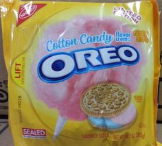 Cotton Candy Oreos