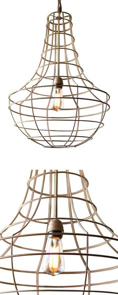Sometimes less is so much more. With its sleek and clean silhouette, this Torrie Caged Pendant Lamp offers a chic and modern take on the iconic entryway chandelier. With antiqued gold-finishing and han...  Find the Torrie Caged Pendant Lamp, as seen in the How to Steampunk Your Home Collection at http://dotandbo.com/collections/how-to-steampunk-your-home?utm_source=pinterest&utm_medium=organic&db_sku=114613