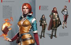 The Witcher franchise and its characters belongs to CD projekt RED. This art is from purchasing the 'collectors edition' of the game. Yennefer Witcher, Witcher Art, Game Costumes, Cosplay Costumes, Fantasy Characters, Female Characters, Triss Merigold, Female Elf, Female Character Design