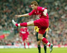No.7: JOHN ARNE RIISE (234 appearances) and a left foot to die for.