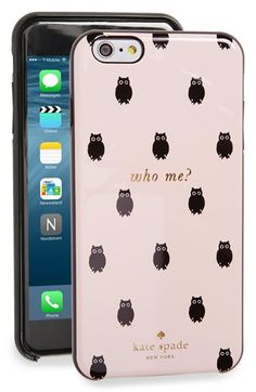 Free shipping and returns on kate spade new york katespadenew york'who me?' iPhone 6 Pluscase (Nordstrom Exclusive) at Nordstrom.com. Whooo'sgot the most stylish tech around? You do, when you pop this cute, protective hard-shell case on your iPhone 6 Plus.