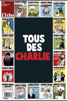 L'Echo (France) | La presse internationale réagit à la fusillade de Charlie Hebdo