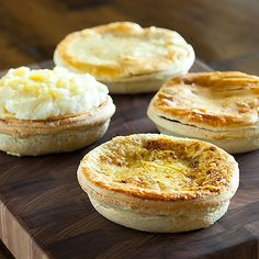 Savory Pie Quartet: Soul Pies has brought their authentic New ZealandAustralianMeat Pies to NYC and we've gotten our hands on four of their finest: potato-topped Shepherd's, Steak & Mushroom, Minced Beef and 100% vegetarian Curry Vegetable. - $40 at Dean & DeLuca