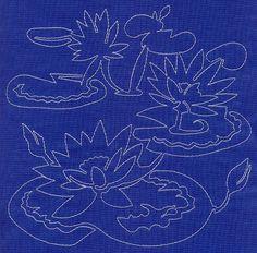 sashiko embroidery designs - Google Search: