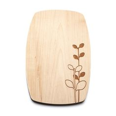 Maple Cheese Board Laurel  by Beehive Kitchenware Co.
