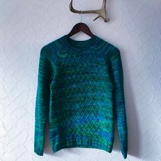 Northern Lights Sweater by @kulibiaka | malabrigo Rios in Solis