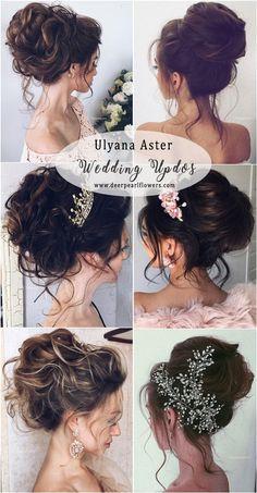 Ulyana Aster Long Wedding Updos #weddings #weddingideas #weddnghairstyles #hairstyles   ❤️ http://www.deerpearlflowers.com/ulyana-aster-wedding-hairstyles-2/