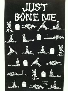 Even the bones are gett'n some