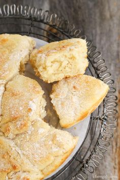 Touch of Grace Biscuits - an incredibly light pull-apart biscuit, with a moist and airy crumb that literally melts in your mouth - from http://afarmgirlsdabbles.com