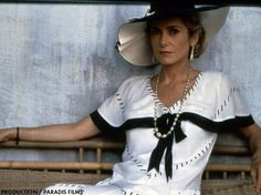 Catherine Deneuve in Indochine directed by Régis Wargnier, 1992
