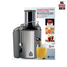 I found this amazing Big Boss 2-Speed Stainless Steel Juicer at nomorerack.com for 58% off. Sign up now and receive 10 dollars off your first purchase
