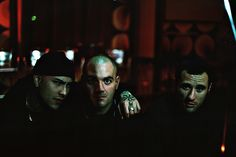 3 member of Pinta Facile  (Roman Skinheads Oi! Band)   @Woodstock Club - Carbonia -  Sardinia    Camera: Yashica FX-3 Super 2000  Lens: Carl Zeiss Planar T* 1.7/50mm  Film: Kodacolor DXn 200    © Quadraro. All rights reserved