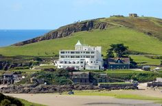 Tracking down scenes from the world of Agatha Christie and Sir Arthur Conan Doyle in Devon and Cornwall Sir Arthur, Arthur Conan Doyle, Agatha Christie's Poirot, Hercule Poirot, Evil Under The Sun, Great Places, Places To Visit, Art Deco Hotel, Devon And Cornwall