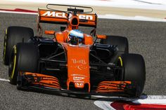 Fernando Alonso, McLaren-Honda, GP Bahréin 2017