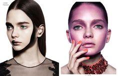 "colour burst - Photographer Edu Gómez captures Glassbook Magazine's ""Colour Burst"" beauty story. The visually vivid editorial features mo..."