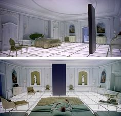 Bedroom in 2001 Space Odyssey